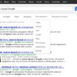 Nuovo design serp google.it