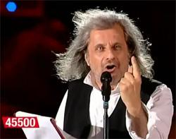Alessandro Bergonzoni al Concerto per l'Emilia 2012