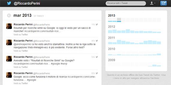 Archivio tweet @RiccardoPerini