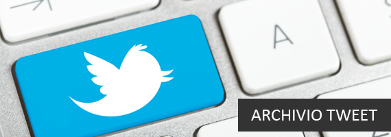 Archivio Tweet Twitter