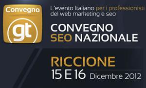 Convegno GT 2012 Riccione (Rimini)