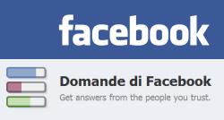 Facebook Domande e Sondaggi