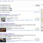 Google Instant Search per i Luoghi
