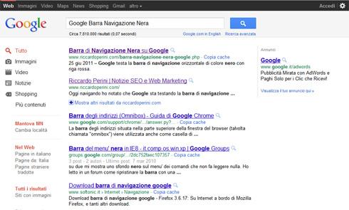 Google nuovo layout pagina dei risultati
