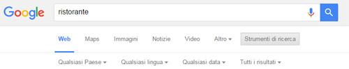 Non si può cambiare località su Google