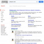 Pagina business Google+ di Amazon in SERP