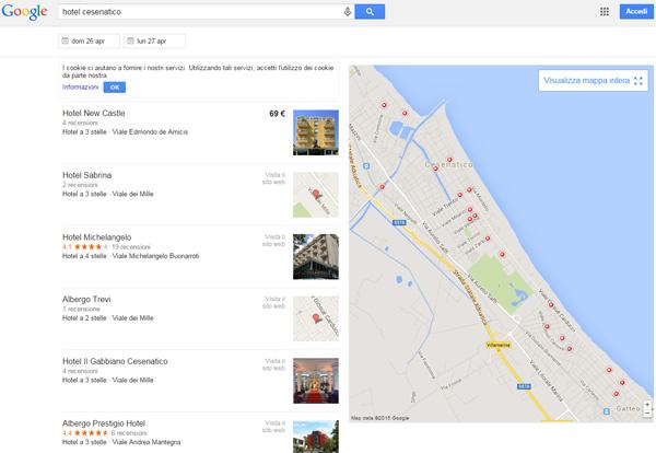 Google ricerca locale 2015