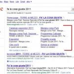 Google Sitelinks enormi
