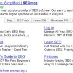 Google Sitelink con tab