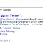 Google Sitelinks per account Twitter