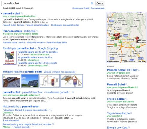 Nuova SERP Google