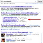 Rich snippet con tweet di Twitter indentati su Google.it