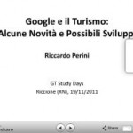 Slide Google e il Turismo Riccardo Perini Web Marketing Turistico