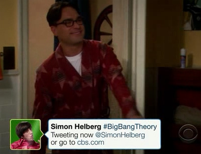 The Big Bang Theory 4x20: chat Twitter con Howard Wolowitz