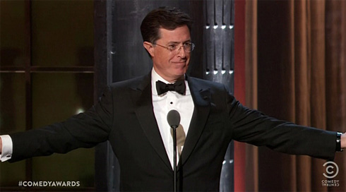 Hashtag Twitter durante Comedy Awards 2011 (fonte media.twitter.com)