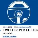 Twitter per Letterati Serena Danna Festivaletteratura 2012 Mantova